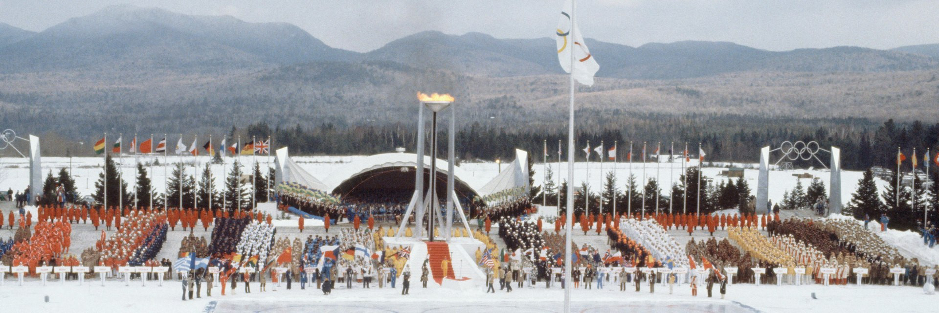 Lake Placid 1980 banner