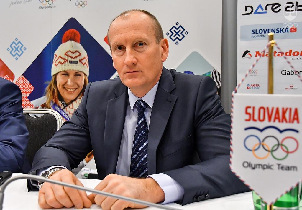 2750ff28fcb07 Slovenskú výpravu na ZOH 2018 povedie športový riaditeľ SOV Roman Buček,  ktorý s dvoma svojimi