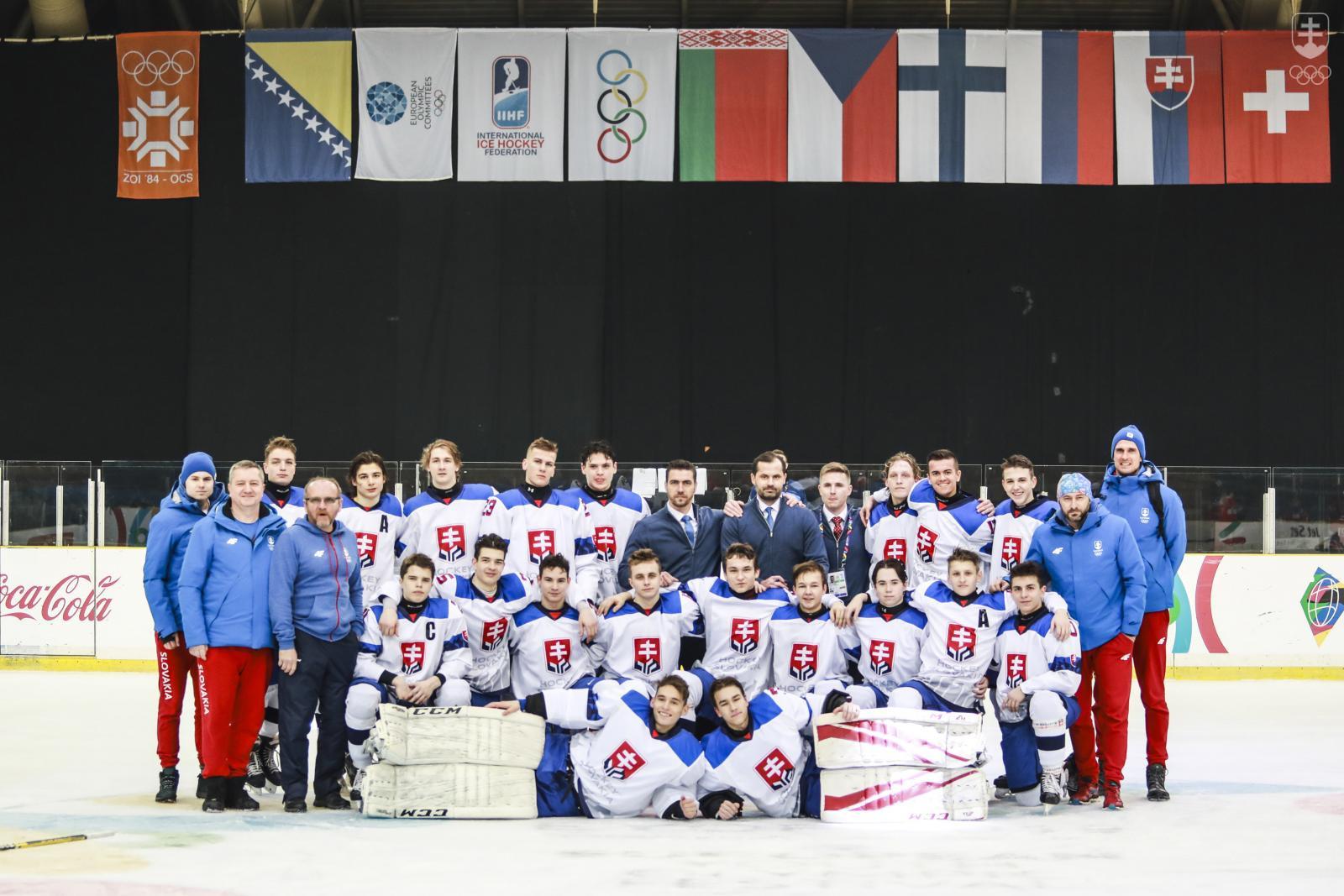 b1e77e369b29 Hokejová sedemnástka na EYOF-e v Sarajeve obsadila konečné 5. miesto. FOTO
